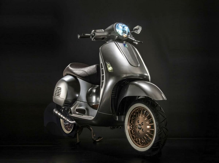 vespa 300 ss custom. Black Bedroom Furniture Sets. Home Design Ideas