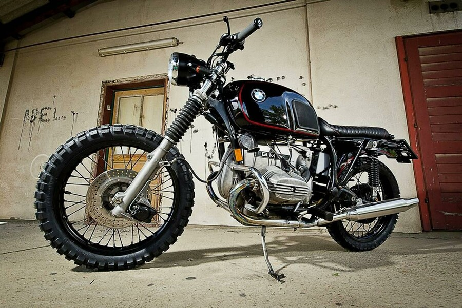 bmw scrambler by ws customs. Black Bedroom Furniture Sets. Home Design Ideas