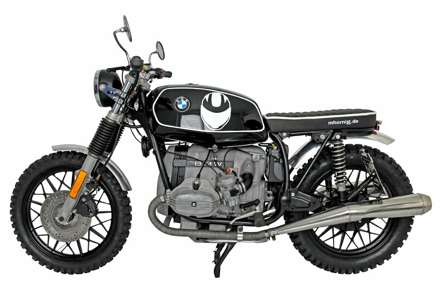 bmw r45 scrambler umbau von hornig. Black Bedroom Furniture Sets. Home Design Ideas