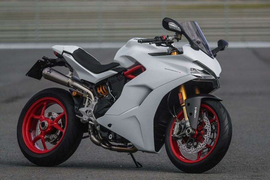 Ducati Tank Pad Carbon
