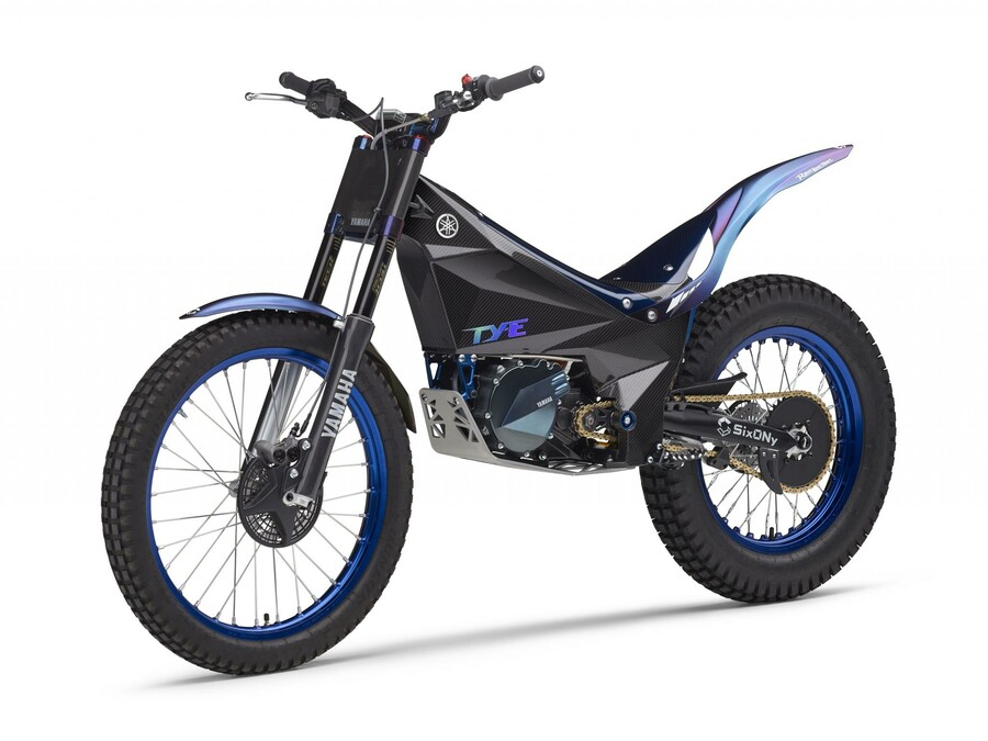yamaha trat mit elektro trial bike ty e beim trial e cup an. Black Bedroom Furniture Sets. Home Design Ideas