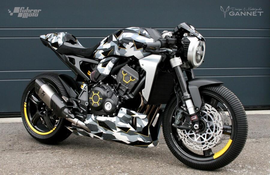 honda cb1000r adical by fuhrer moto. Black Bedroom Furniture Sets. Home Design Ideas