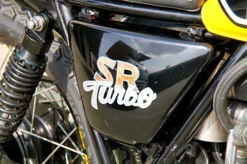 Yamaha SR400 Turbo Star