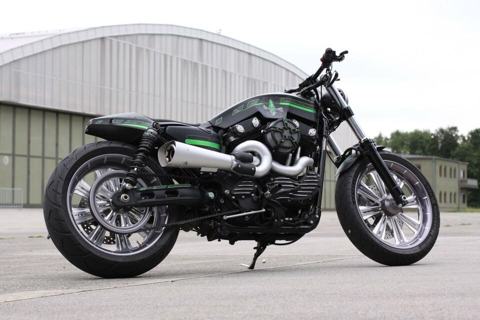 Stock Sucks - Custom Harley Sportster - Motorrad News
