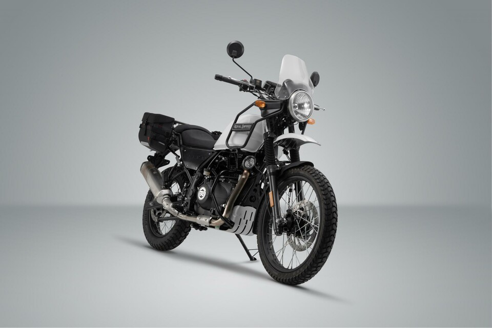 neues sw motech zubeh r f r die royal enfield himalayan. Black Bedroom Furniture Sets. Home Design Ideas