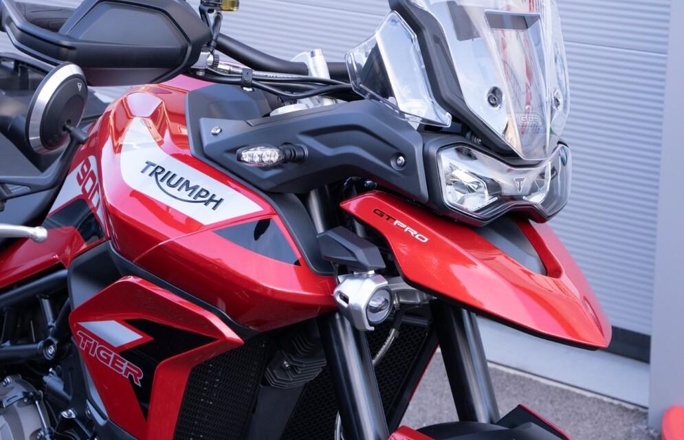 Rocket III und Tiger 900 GT Pro