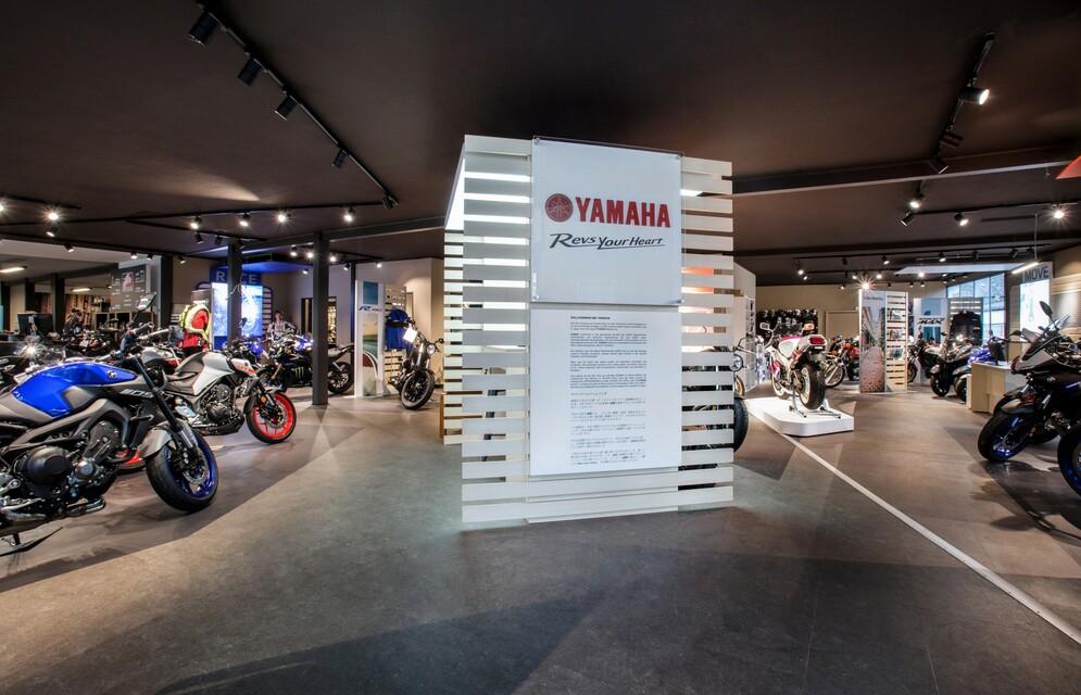 Yamaha-Abteilung