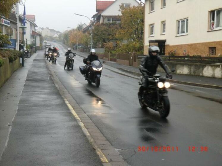 Abschlussfahrt 30.10.2011