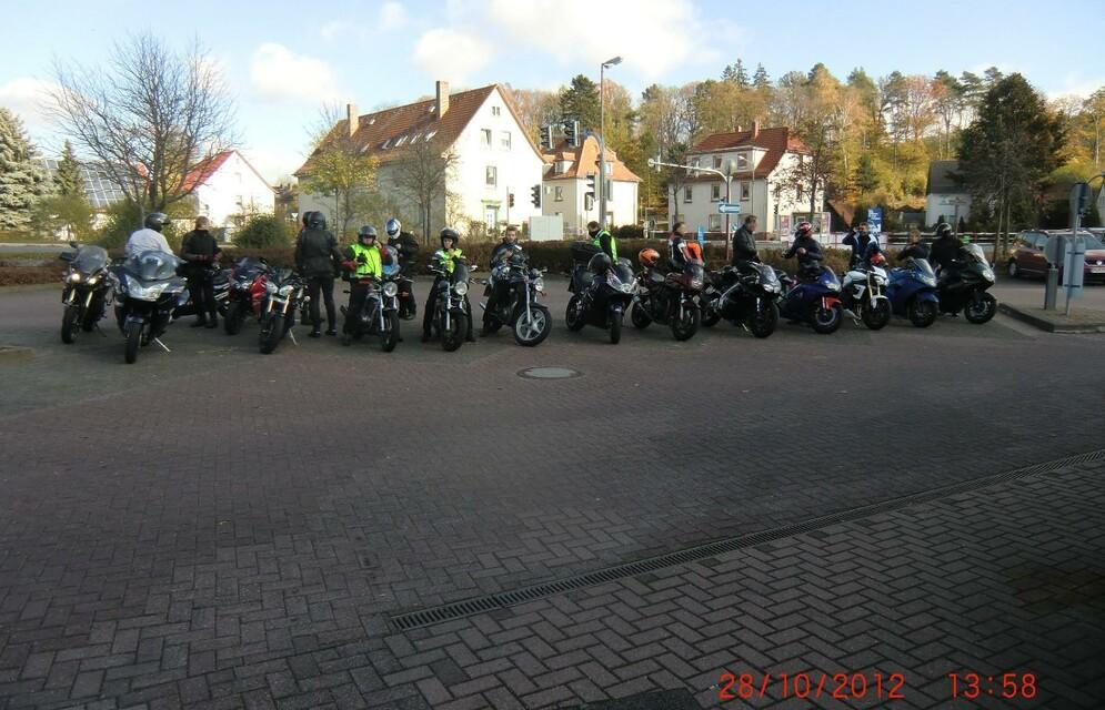 Saison-Abschlussfahrt 2012