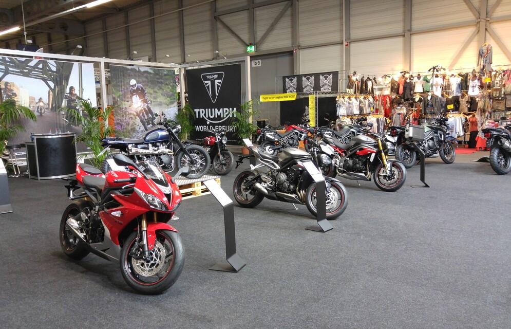 Motorradmesse Erfurt 2017