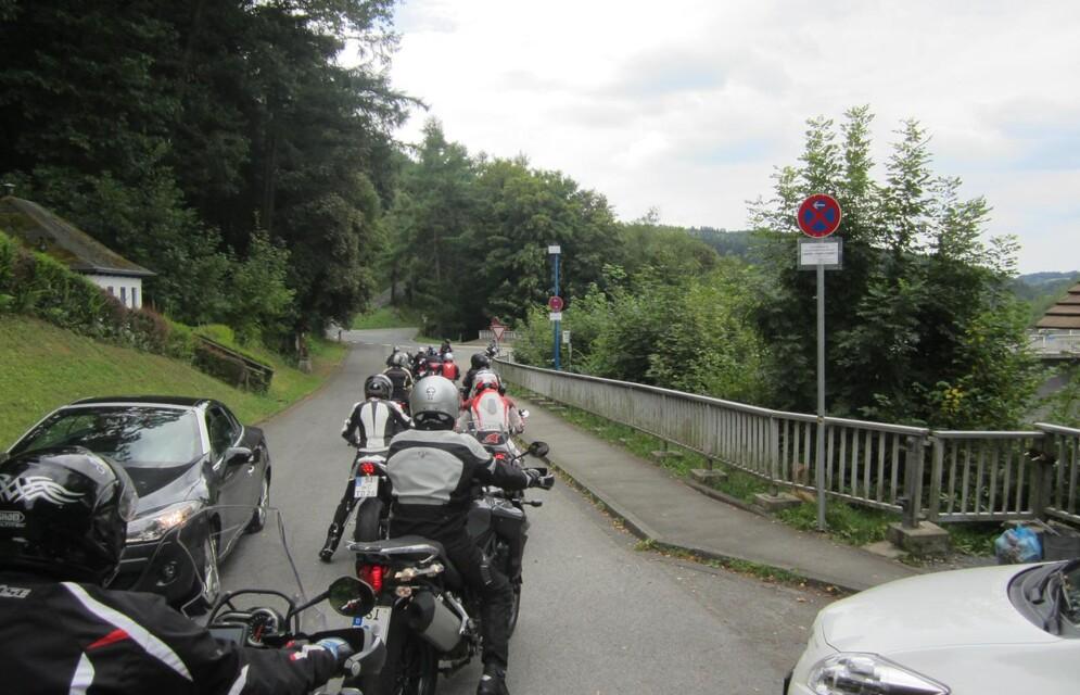 Ausfahrt Sauerland 11.08.2013