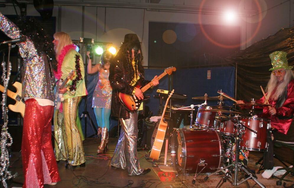 Glam Bam Konzert am 3.12.2011 in Düsseldorf