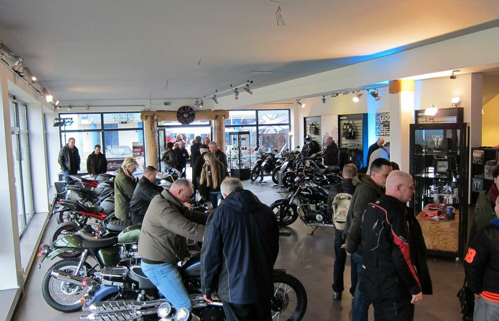 Viking Cycles Opening