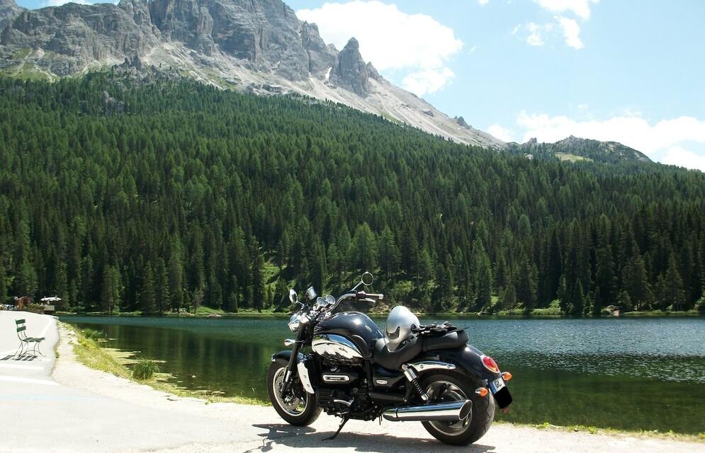 Ein guter Kunde mit der Rocket in den Dolomiten