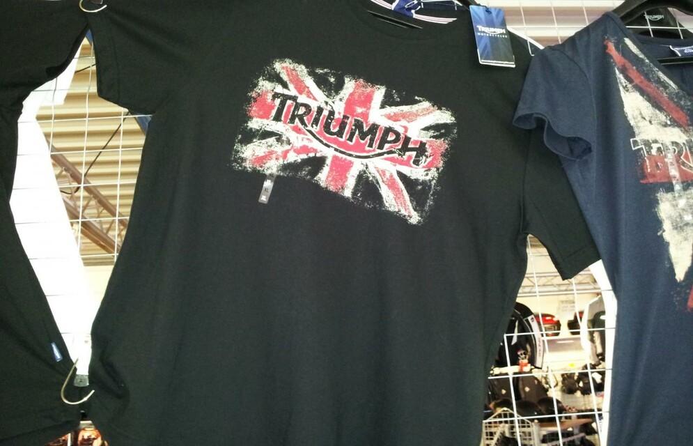 Die Anfänge Teil 2... Triumph Bekleidung