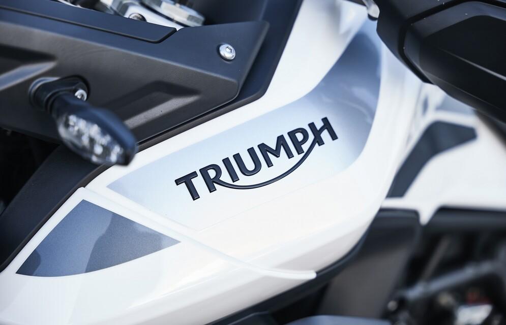 Hans Ripa unterwegs auf Tiger 900 GT Pro